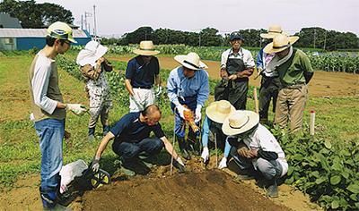 援農に役立つ技術を習得