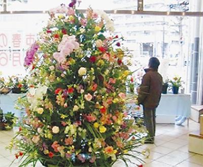 100品種の花が競演