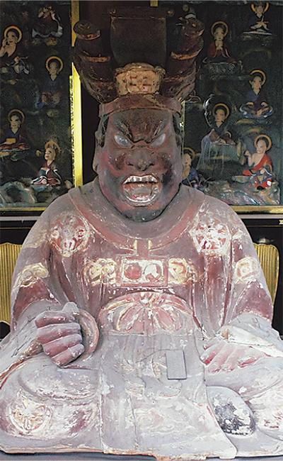 閻魔王坐像を公開