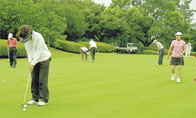 市民ゴルフ大会が30回記念