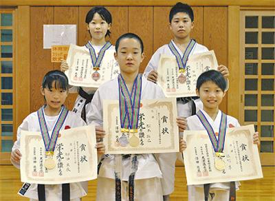 平塚勢から3人の優勝者