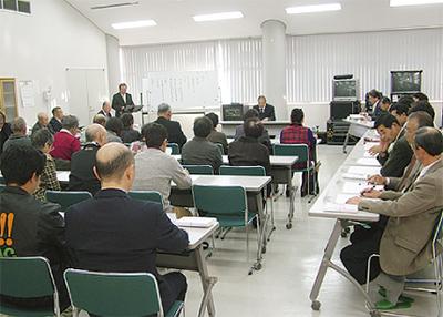 真田で「営農組合」発足