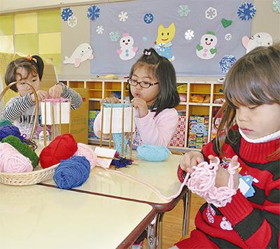 手編みのマフラー誰にプレゼント?