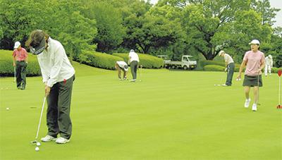 市民ゴルフ大会 参加者募る