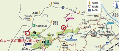 高麗山ハイキング復旧