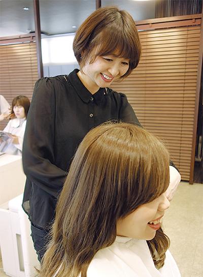 ママさん理・美容師活躍中!