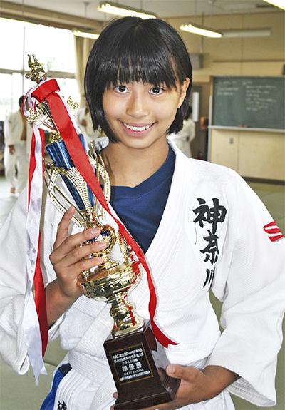 全国中学柔道で準優勝