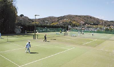 休日テニスお得に満喫