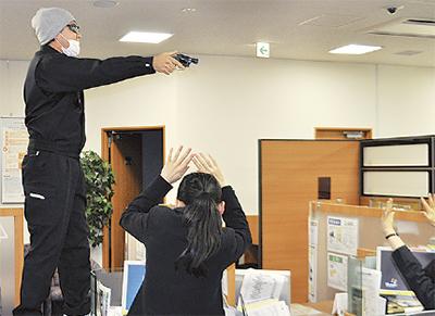 万一備え防犯訓練