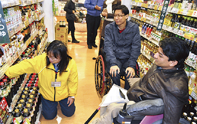 日本の福祉雇用を視察