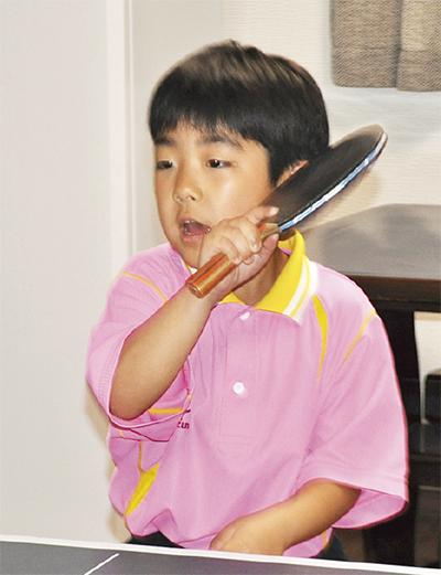 卓球少年 全国へ