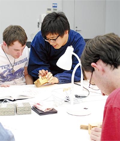 留学生が日本文化体験