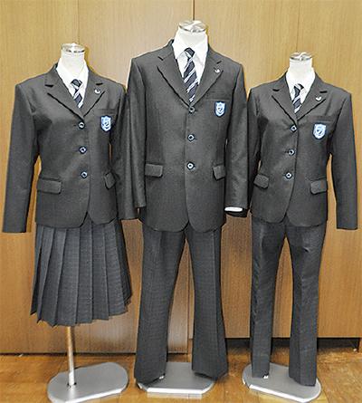 太洋中が新制服披露