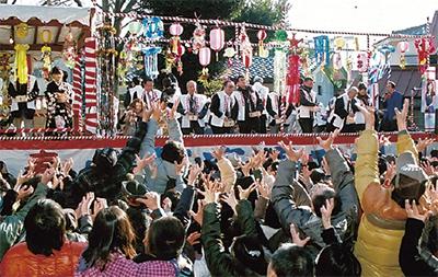 「名物祭」で繁盛祈願
