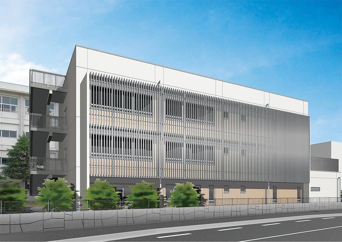 高浜高 定時制の新校舎着工