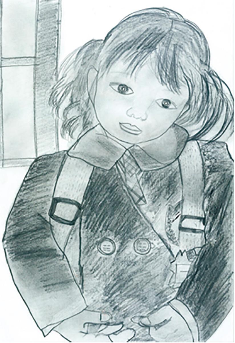 肖像作品ルーヴルへ