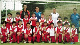 FC中井の選手とコーチたち