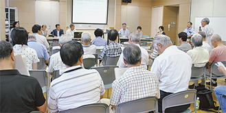 議会基本条例に対する意見交換が行われた集会