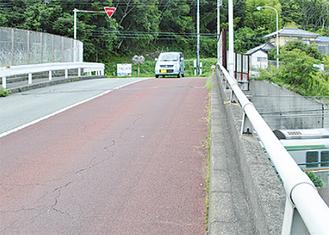 修繕工事が決まった内原跨線橋