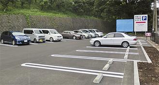 秦野中井IC南側にある駐車場