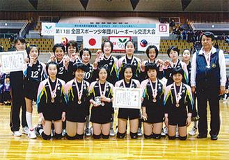 中井ジュニアの選手たち