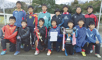 FC中井6年生のメンバー