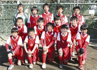 FC中井6年生の選手