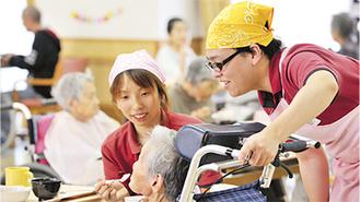 介護の現場で役立つ実習もわかりやすく指導