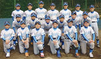 湘南アサヒベースボールクラブの選手たち