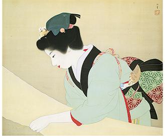 上村松園/晴日(1941年)