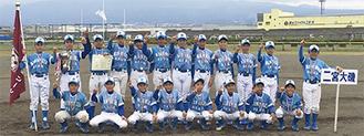 二宮大磯リトルリーグの選手たち