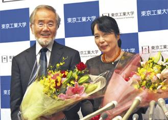 大隅さんと妻の萬里子さん