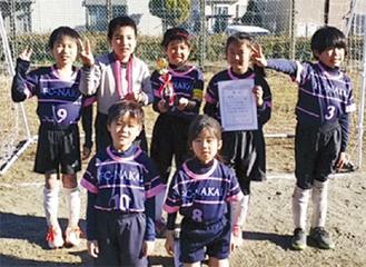 FC中井の2年生