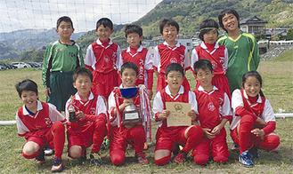 FC中井の選手たち