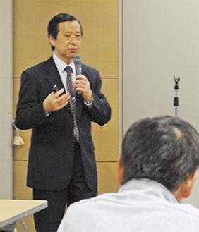 講師の矢崎さん