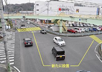報告会で望ましいと示された横断歩道の設置ケース