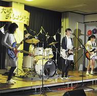 地元バンドが熱演