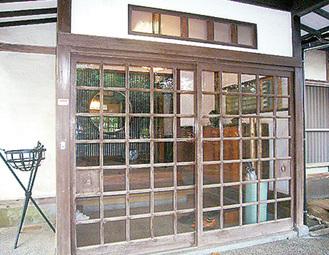 大磯の旧大隈邸玄関