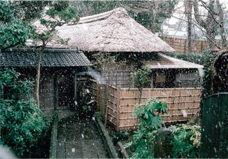 多田勝顕さんの作品「冬の夕暮れ」