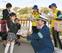 新入学児と無事故の約束
