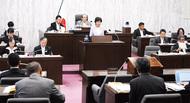 新庁舎補正予算案を否決