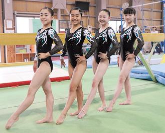 左から辻前さん、関塚さん、柏木さん、富岡さん