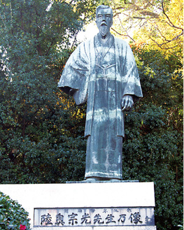 和歌山県にある陸奥宗光の銅像原は自宅にも陸奥の銅像を飾っていた