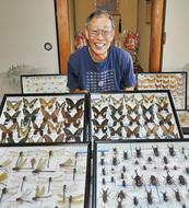 大磯の昆虫 3千種ズラリ