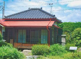現在は盛岡の原敬記念館に移築されている腰越の別荘