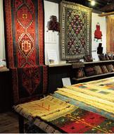 遊牧民の伝統織物