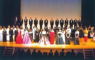 過去のオペラ公演の様子