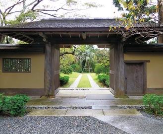 旧吉田茂邸の兜門