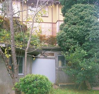 旧吉田茂邸の秘密の出口