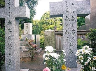 現在の青山墓地